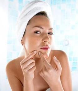 Инфекции сальных желез на лице